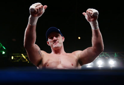 Gallen humbles Hopoate with second-round KO
