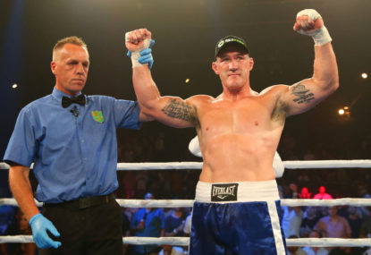 Paul Gallen vs Barry Hall betting odds: Winner, method of victory and more