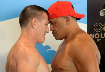 Paul Gallen vs John Hopoate: Boxing live blog, round-by-round