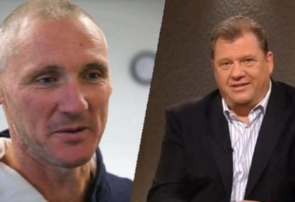 'You're a liar': Peter Everitt and Grant Thomas clash over drug claims