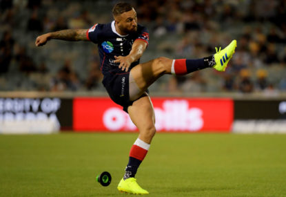 Welcome back to the big time, Quade Cooper