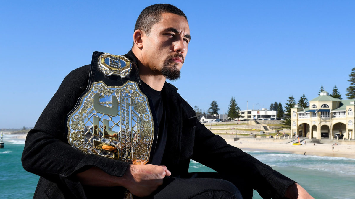 Whittaker locks in UFC title fight for Melbourne