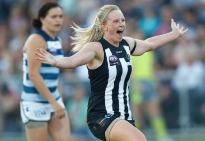 The return to Victoria Park: An AFLW fan's perspective