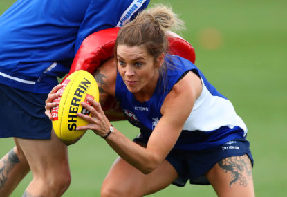 Kangaroos belt Carlton in first AFLW match