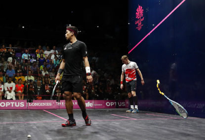 You should be watching squash instead of tennis