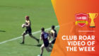 CLUB ROAR VIDEO OF THE WEEK: Pocock clone's unstoppable rampage for meat pie