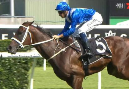 WATCH: Thirty! Winx starts 2019 with another record-breaking win at Apollo Stakes