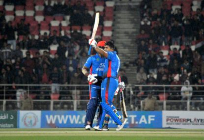 Afghanistan score huge upset over Pakistan in World Cup warmup
