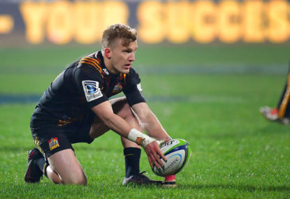 damian mckenzie chiefs goalkicker
