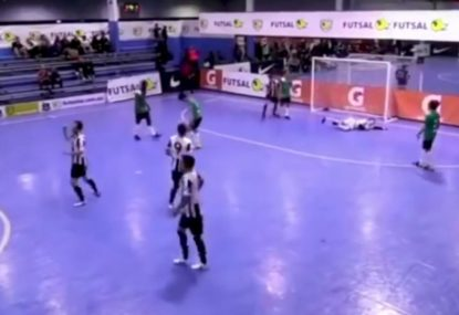 Unequivocal proof that Andre Caro is Australia's greatest futsal player