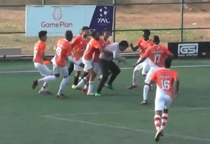 Goalie goes full-Schwarzer with diving, penalty shootout-winning save
