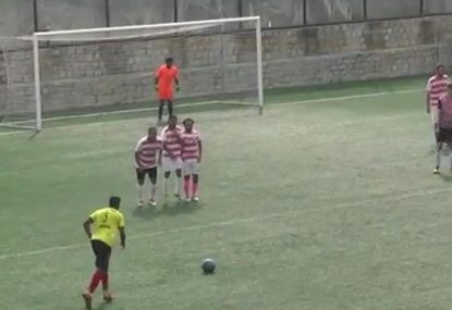 Cracking chip over the wall has too much bend for keeper