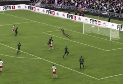 This falcon is the luckiest FIFA goal ever!
