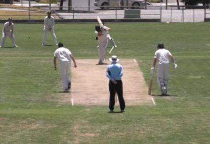 Every bowler dreams of seeing a cartwheeling off-stump