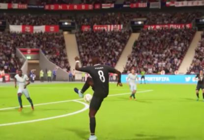 FIFA pro almost showboats his way to stunning goal