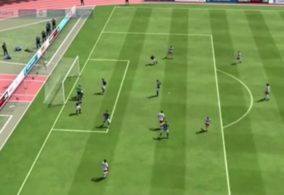 This horrid own goal is so unlucky, it's actually hilarious!