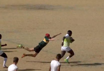 TRY OR NO TRY? Bulldozer's offload puts HUGE question mark over epic full-length try