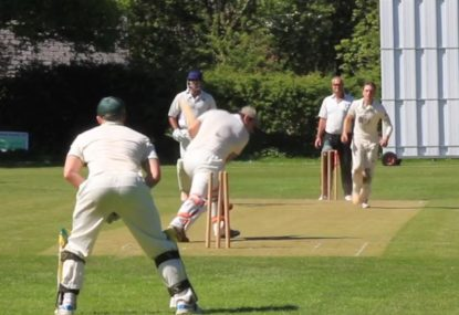 Outrageous looping slower-ball yorker is too much to handle