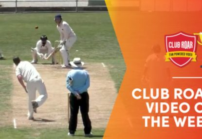 CLUB ROAR VIDEO OF THE WEEK: Incredible delivery is ball of the decade