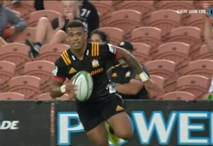 Hollywood-esque pass sets up exhilarating try for the Chiefs