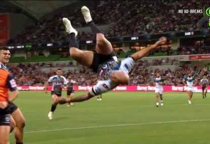 Blake Ferguson's insane All Stars try celebration will take your breath away