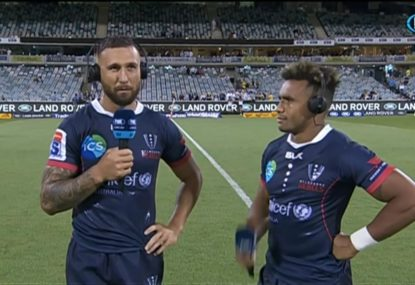 Quade Cooper reflects on a year hiatus from Super Rugby