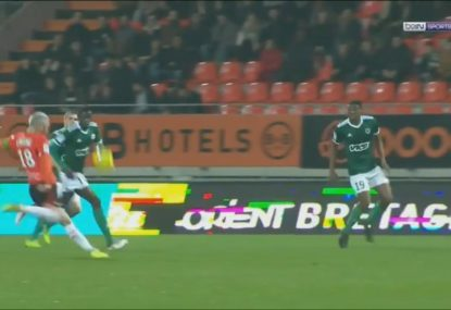Lorient midfielder produces absolute worldie in French Ligue 2