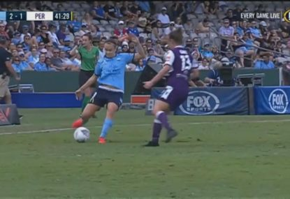 Sydney FC cancel out Sam Kerr penalty to maintain lead