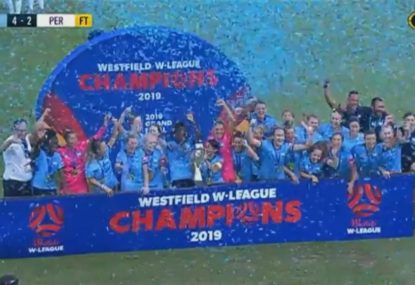 Sydney FC win goalfest against Perth to secure third W-League title