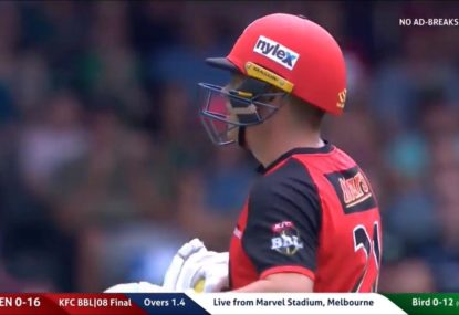 Mark Waugh lays into Marcus Harris after throwing his wicket away