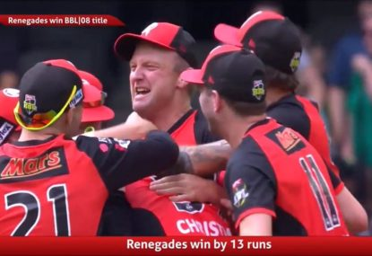 Stars' jaw-dropping choke hands Renegades remarkable BBL08 title