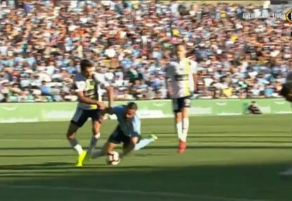 Central Coast throw away chance of major upset with soft penalty