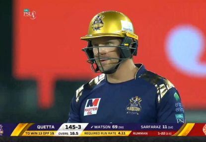 Shane Watson's destructive 81 not out in the PSL