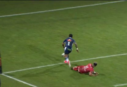 Was this moment the final straw before Toulon President's attack on Julian Savea?
