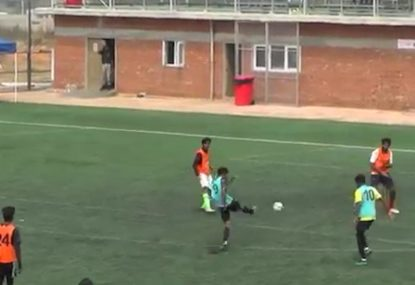 Defender pays ultimate price for garbage clearance kick