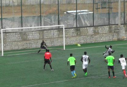 Defender's foolish brain snap puts energetic goalie under the pump