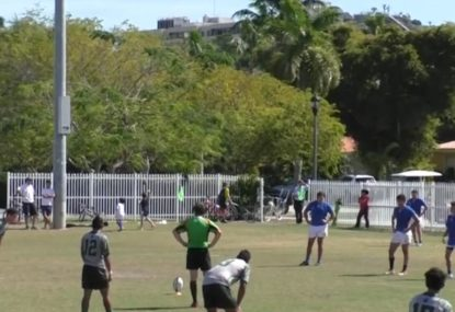 Embarrassing conversation attempt brings shame to the art of goal-kicking
