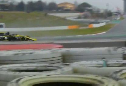 Daniel Ricciardo suffers dangerous testing mishap