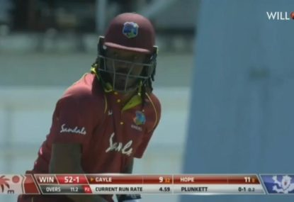 Chris Gayle's six-hitting massacre against England breaks several records