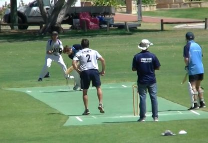 Slower-ball yorker annihilates off stump