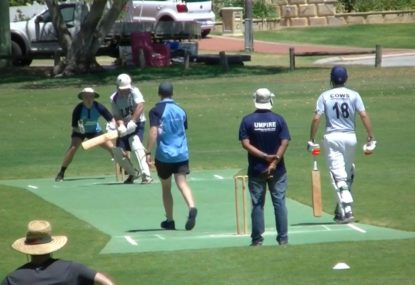 Umpire controversially rejects LBW shout with rapid-fire surety