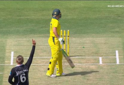 One of the fastest bowlers in women's cricket rips through Healy