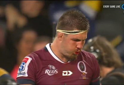 The Highlanders conquer the Reds in highly entertaining game of rugby