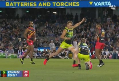 Patrick Cripps introduces the place-kick to AFLX