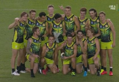 Jack Riewoldt leads Rampage to AFLX title with a 20-point supergoal