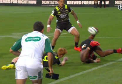 Crusaders winger's out of this world try assist