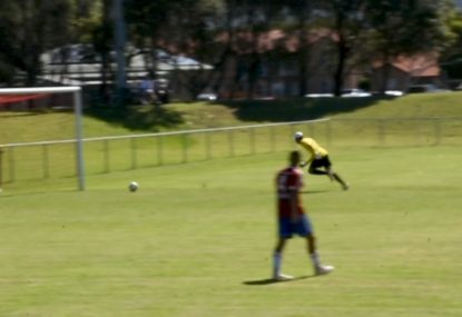 Goalie commits the greatest (and funniest) own goal fail ever!