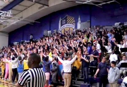 Crowd gives rivals a heart-thumping Vikings welcome