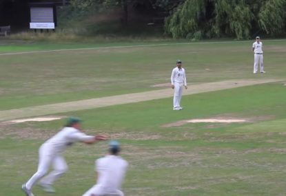 Catch-hungry fielders narrowly avoid Waugh-Gillespie '99-style disaster