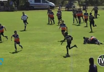 Youngster puts on afterburners to score epic try on the siren